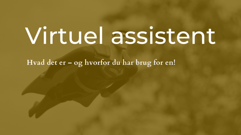 virtuel assistent